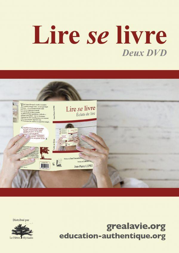 Pack Lire se livre (double DVD et livre)