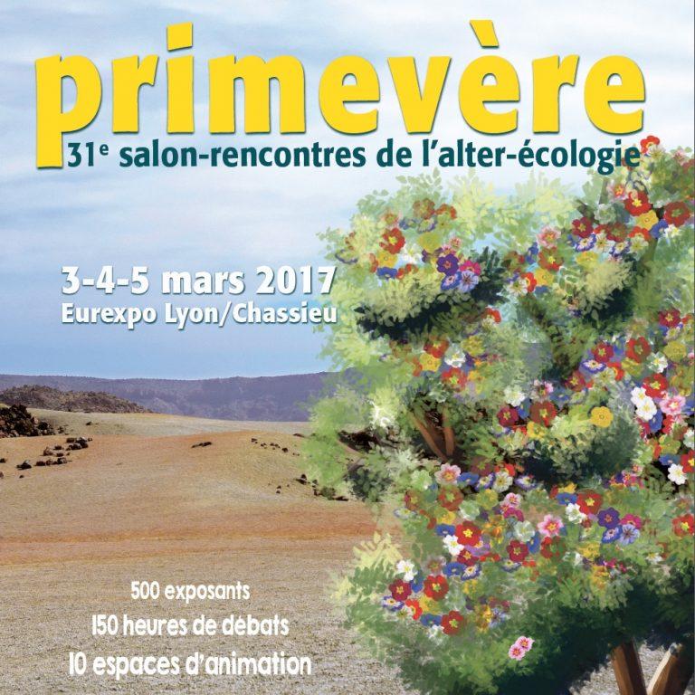 Salon Primevère  3-5 mars Lyon